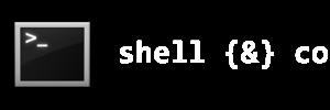 shell {&} co
